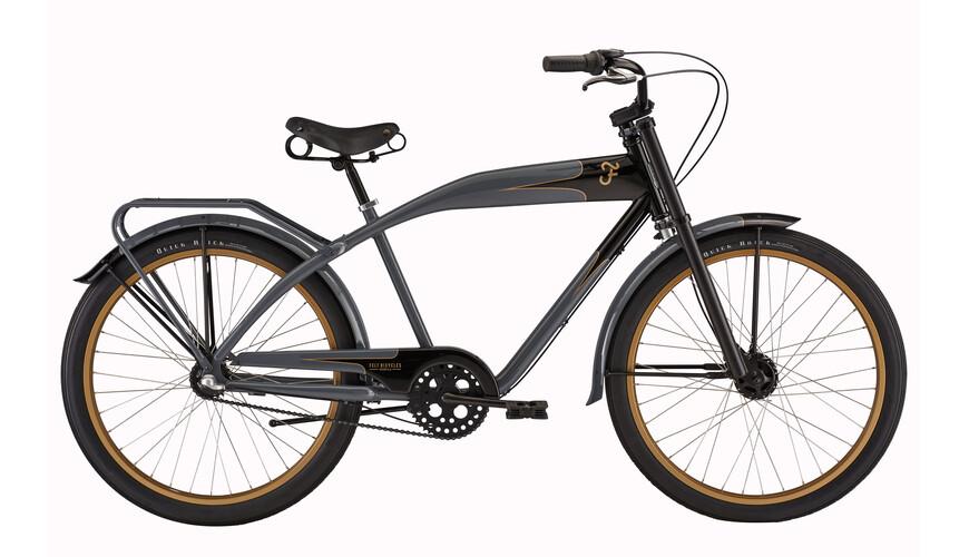 "Felt Cruiser Nebula retro bike 26""/3-SP grey/silver"